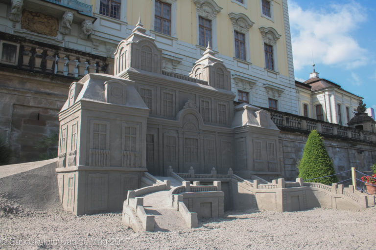 Sandskulpturen Blühendes Barock 2017 Sandkunst 13