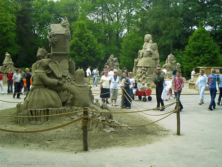 Sandskulpturen Niederlande 1