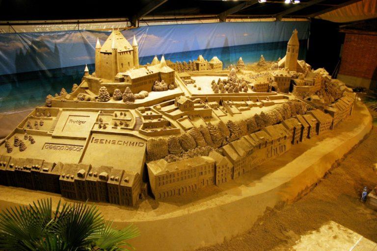 Sandskulptur Thun Schweiz