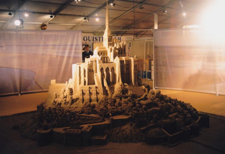 Sandskulptur Messe