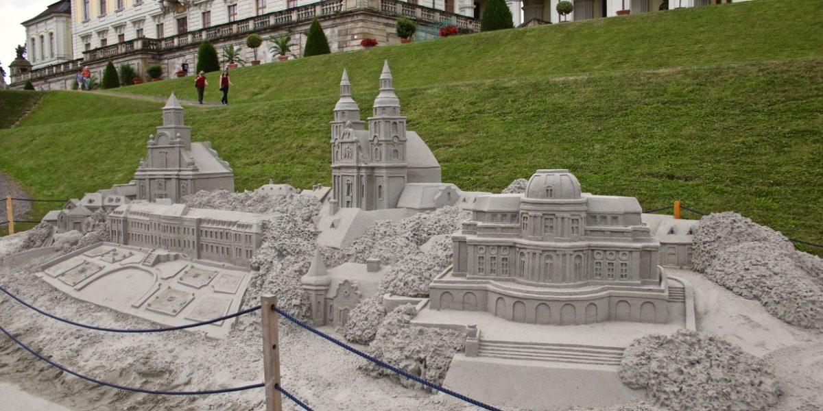 Sandskulpturen Blühendes Barock 2018 Sandkunst