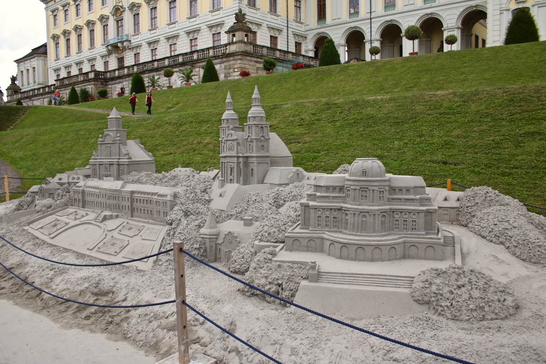 Sandskulpturen Blühendes Barock 2018 Sandkunst 12